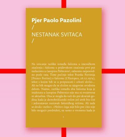 Pjer Paolo Pazolini Nestanak svitaca