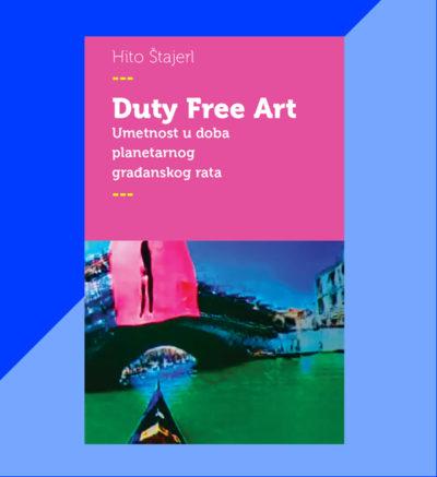 Hito Štajerl Duty Free Art FMK knjige