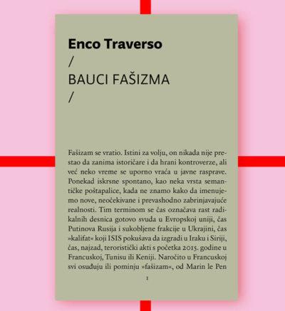 Enzo Traverso Bauci fašizma FMK knjige